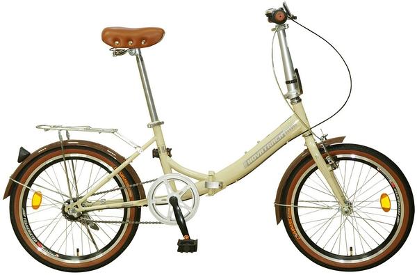 """098620 2 - Велосипед NOVATRACK AURORA, Складной, р. 12"""", колеса 20"""", цвет Бежевый, 2020г."""