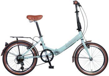 """098621 2 350x245 - Велосипед NOVATRACK AURORA, Складной, р. 12"""", колеса 20"""", цвет Синий, 2020г."""