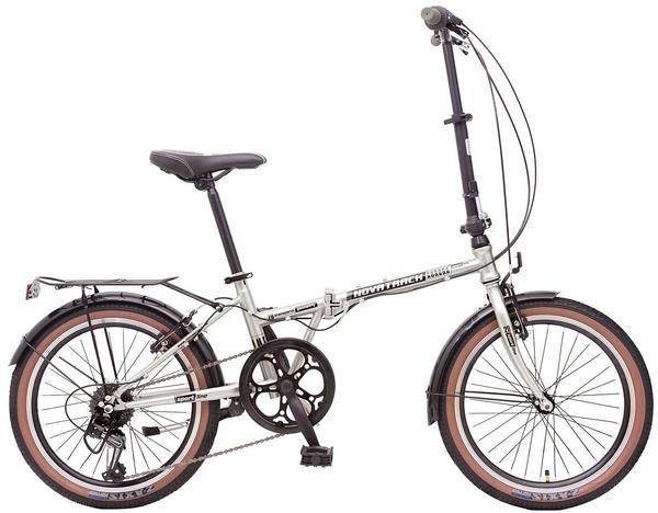 """119946 2 - Велосипед NOVATRACK AURORA, Складной, р. 12"""", колеса 20"""", цвет Серый, 2020г."""
