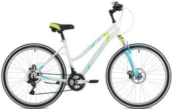"""124817 2 350x221 - Велосипед Stinger Latina D, р.15, цвет Белый, 2018г., колеса 26"""""""
