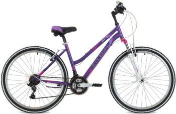 """124821 2 350x227 - Велосипед Stinger Latina, р.15, цвет Фиолетовый, 2018г., колеса 26"""""""