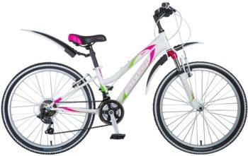 """124859 2 350x221 - Велосипед Stinger Latina, р.12, цвет Белый, 2018г., колеса 24"""""""