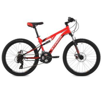 """125638 2 350x350 - Велосипед Stinger Discovery D, р.14, цвет Красный, 2018г., колеса 24"""""""