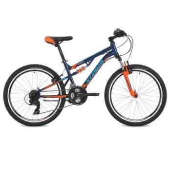 "125639 2 350x350 - Велосипед Stinger Discovery, р.14, цвет Синий, 2018г., колеса 24"""