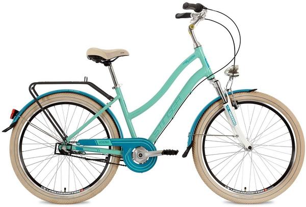"""127030 2 - Велосипед Stinger Verona, р.17, цвет Зеленый, 2018г., колеса 26"""""""