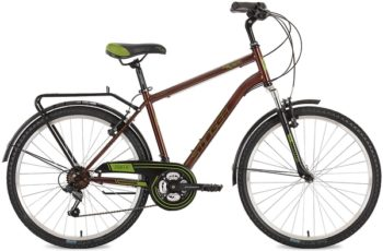 "127044 2 350x230 - Велосипед Stinger Traffic, р.18, цвет Коричневый, 2018г., колеса 26"""