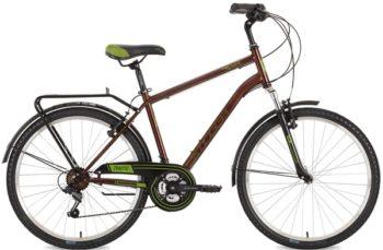 "127046 2 350x229 - Велосипед Stinger Traffic, р.20, цвет Коричневый, 2018г., колеса 26"""