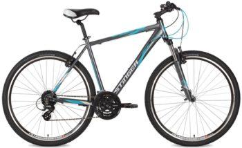 """127075 2 350x214 - Велосипед Stinger Campus Std, р.60, цвет Серый, 2018г., колеса 28"""""""