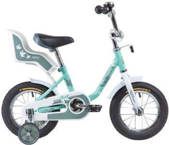 """133870 2 350x299 - Велосипед NOVATRACK MAPLE, Детский, р. 8,5"""", колеса 12"""", цвет Серый, 2020г."""