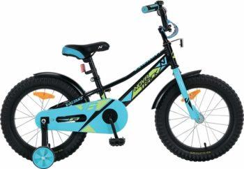 """133894 2 350x242 - Велосипед NOVATRACK VALIANT, Детский, р. 9"""", колеса 14"""", цвет Черный, 2020г."""