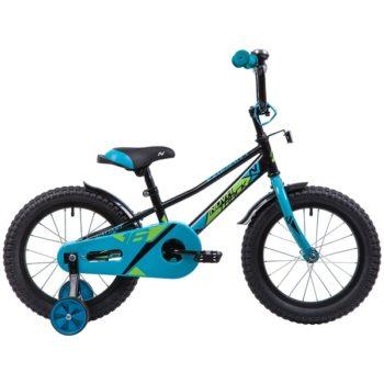 """133925 2 350x350 - Велосипед NOVATRACK VALIANT, Детский, р. 10,5"""", колеса 16"""", цвет Черный, 2020г."""