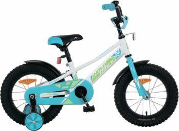 """133929 2 350x256 - Велосипед NOVATRACK VALIANT, Детский, р. 11,5"""", колеса 18"""", цвет Белый, 2020г."""