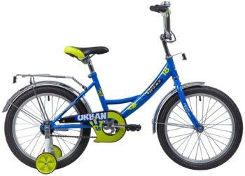 """133932 2 350x251 - Велосипед NOVATRACK URBAN, Детский, р. 11,5"""", колеса 18"""", цвет Синий, 2020г."""