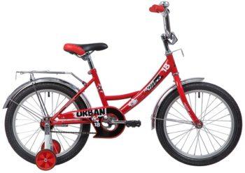 """133933 2 350x248 - Велосипед NOVATRACK URBAN, Детский, р. 11,5"""", колеса 18"""", цвет Красный, 2020г."""