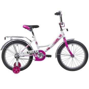 """133935 2 350x350 - Велосипед NOVATRACK URBAN, Детский, р. 11,5"""", колеса 18"""", цвет Белый, 2020г."""