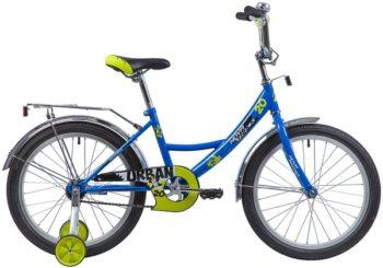 """133946 2 350x245 - Велосипед NOVATRACK URBAN, Детский, р. 12"""", колеса 20"""", цвет Синий, 2020г."""