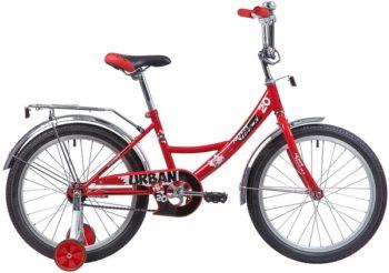 """133947 2 350x246 - Велосипед NOVATRACK URBAN, Детский, р. 12"""", колеса 20"""", цвет Красный, 2020г."""