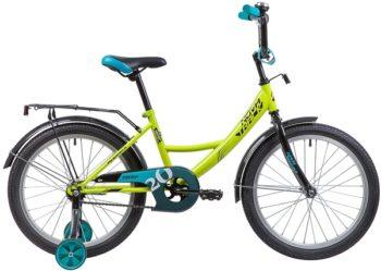 """133951 2 350x249 - Велосипед NOVATRACK VECTOR, Детский, р. 12"""", колеса 20"""", цвет Зеленый, 2020г."""