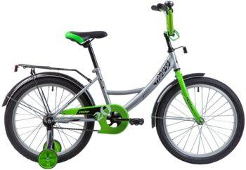 """133952 2 350x242 - Велосипед NOVATRACK VECTOR, Детский, р. 12"""", колеса 20"""", цвет Серебристый, 2020г."""