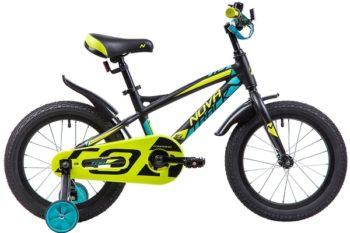 """133957 2 350x233 - Велосипед NOVATRACK TORNADO, Детский, р. 10,5"""", колеса 16"""", цвет Черный, 2020г."""