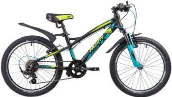 """133959 2 350x198 - Велосипед NOVATRACK TORNADO, Скоростной, р. 11,5"""", колеса 20"""", цвет Черный, 2020г."""