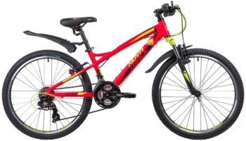 """133963 2 350x201 - Велосипед NOVATRACK TORNADO, Скоростной, р. 13"""", колеса 24"""", цвет Красный, 2020г."""