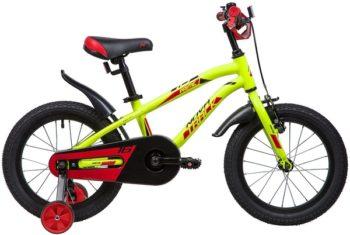 """133967 2 350x235 - Велосипед NOVATRACK PRIME, Детский, р. 10,5"""", колеса 16"""", цвет Зеленый, 2020г."""