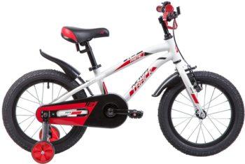 """133968 2 350x234 - Велосипед NOVATRACK PRIME, Детский, р. 10,5"""", колеса 16"""", цвет Белый, 2020г."""