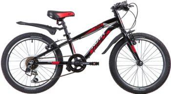 """133969 2 350x193 - Велосипед NOVATRACK PRIME, Скоростной, р. 10"""", колеса 20"""", цвет Черный, 2020г."""