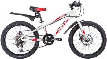 """133970 2 350x195 - Велосипед NOVATRACK PRIME, Скоростной, р. 10"""", колеса 20"""", цвет Белый, 2020г."""
