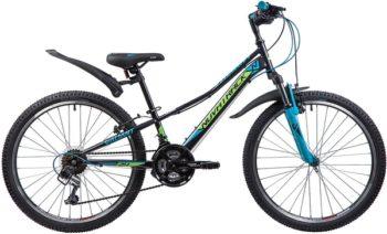 """133983 2 350x212 - Велосипед NOVATRACK VALIANT, Скоростной, р. 10"""", колеса 24"""", цвет Черный, 2020г."""