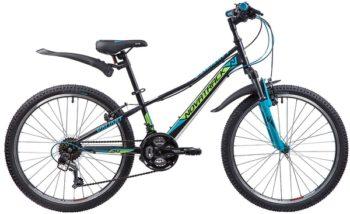 """133984 2 350x214 - Велосипед NOVATRACK VALIANT, Скоростной, р. 12"""", колеса 24"""", цвет Черный, 2020г."""