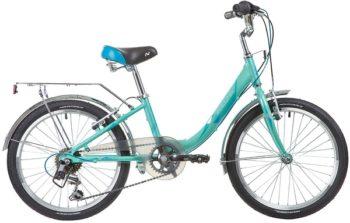 """133989 2 350x223 - Велосипед NOVATRACK ANCONA, Скоростной, р. 11"""", колеса 20"""", цвет Зеленый, 2020г."""