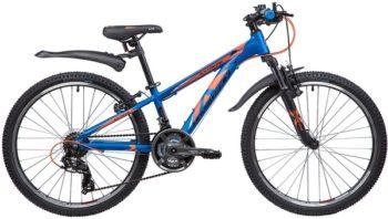 """133995 2 350x198 - Велосипед NOVATRACK EXTREME, Скоростной, р. 11"""", колеса 24"""", цвет Синий, 2020г."""