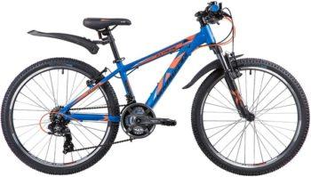 """133996 2 350x199 - Велосипед NOVATRACK EXTREME, Скоростной, р. 13"""", колеса 24"""", цвет Синий, 2020г."""