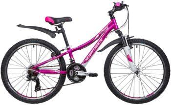 """133999 2 350x215 - Велосипед NOVATRACK KATRINA, Скоростной, р. 10"""", колеса 24"""", цвет Фиолетовый, 2020г."""
