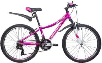 """134000 2 350x218 - Велосипед NOVATRACK KATRINA, Скоростной, р. 12"""", колеса 24"""", цвет Фиолетовый, 2020г."""