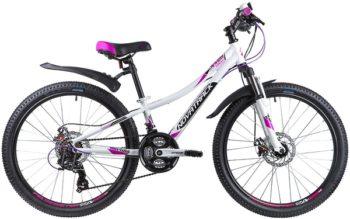 """134001 2 350x219 - Велосипед NOVATRACK KATRINA, Скоростной, р. 10"""", колеса 24"""", цвет Белый, 2020г."""