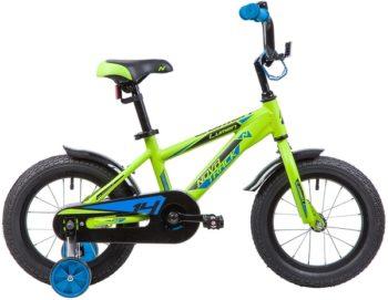 """134003 2 350x271 - Велосипед NOVATRACK LUMEN, Детский, р. 9"""", колеса 14"""", цвет Зеленый, 2020г."""