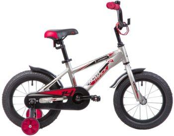 """134005 2 350x274 - Велосипед NOVATRACK LUMEN, Детский, р. 9"""", колеса 14"""", цвет Коричневый, 2020г."""
