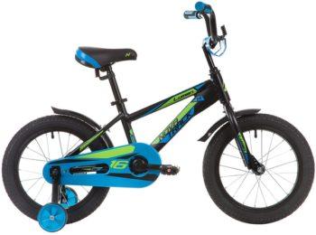 """134007 2 350x260 - Велосипед NOVATRACK LUMEN, Детский, р. 10,5"""", колеса 16"""", цвет Черный, 2020г."""