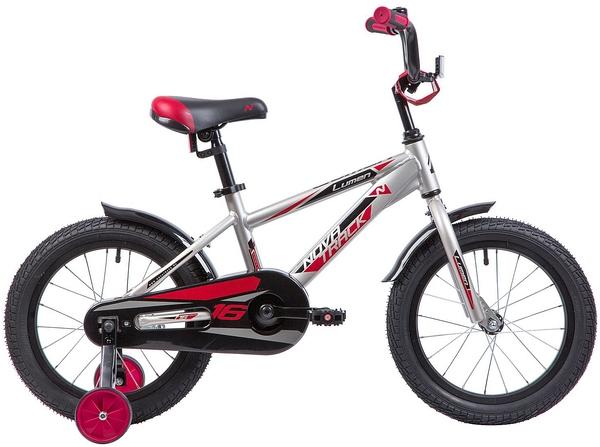 """134008 2 - Велосипед NOVATRACK LUMEN, Детский, р. 10,5"""", колеса 16"""", цвет Коричневый, 2020г."""