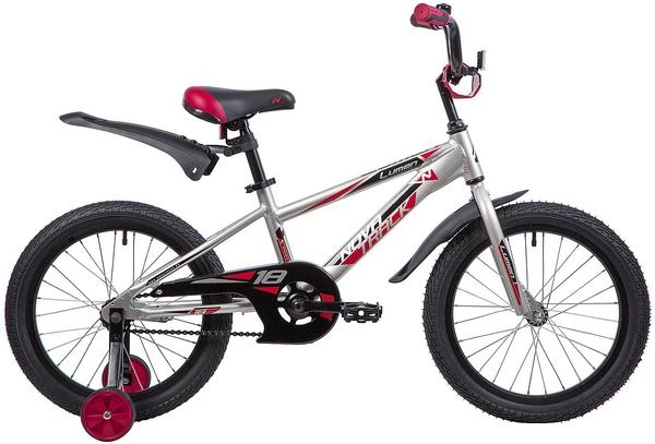 """134011 2 - Велосипед NOVATRACK LUMEN, Детский, р. 11,5"""", колеса 18"""", цвет Коричневый, 2020г."""