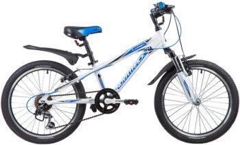 """134012 2 350x212 - Велосипед NOVATRACK LUMEN, Скоростной, р. 10"""", колеса 20"""", цвет Белый, 2020г."""
