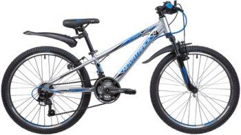 """134014 2 350x197 - Велосипед NOVATRACK LUMEN, Скоростной, р. 11"""", колеса 24"""", цвет Серебристый, 2020г."""