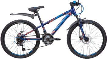 """134016 2 350x194 - Велосипед NOVATRACK LUMEN, Скоростной, р. 11"""", колеса 24"""", цвет Синий, 2020г."""