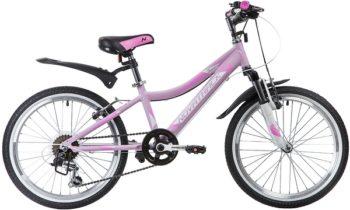 """134027 2 350x210 - Велосипед NOVATRACK NOVARA, Скоростной, р. 12"""", колеса 20"""", цвет Розовый, 2020г."""