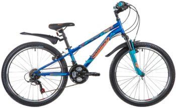 """134042 2 350x216 - Велосипед NOVATRACK ACTION, Скоростной, р. 10"""", колеса 24"""", цвет Синий, 2020г."""