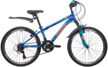 """134043 2 350x216 - Велосипед NOVATRACK ACTION, Скоростной, р. 12"""", колеса 24"""", цвет Синий, 2020г."""