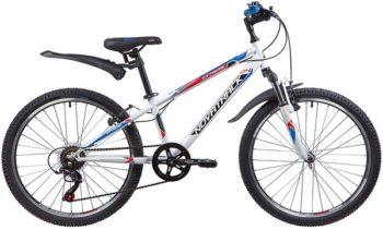 """134054 2 350x211 - Велосипед NOVATRACK EXTREME, Скоростной, р. 12"""", колеса 24"""", цвет Белый, 2020г."""